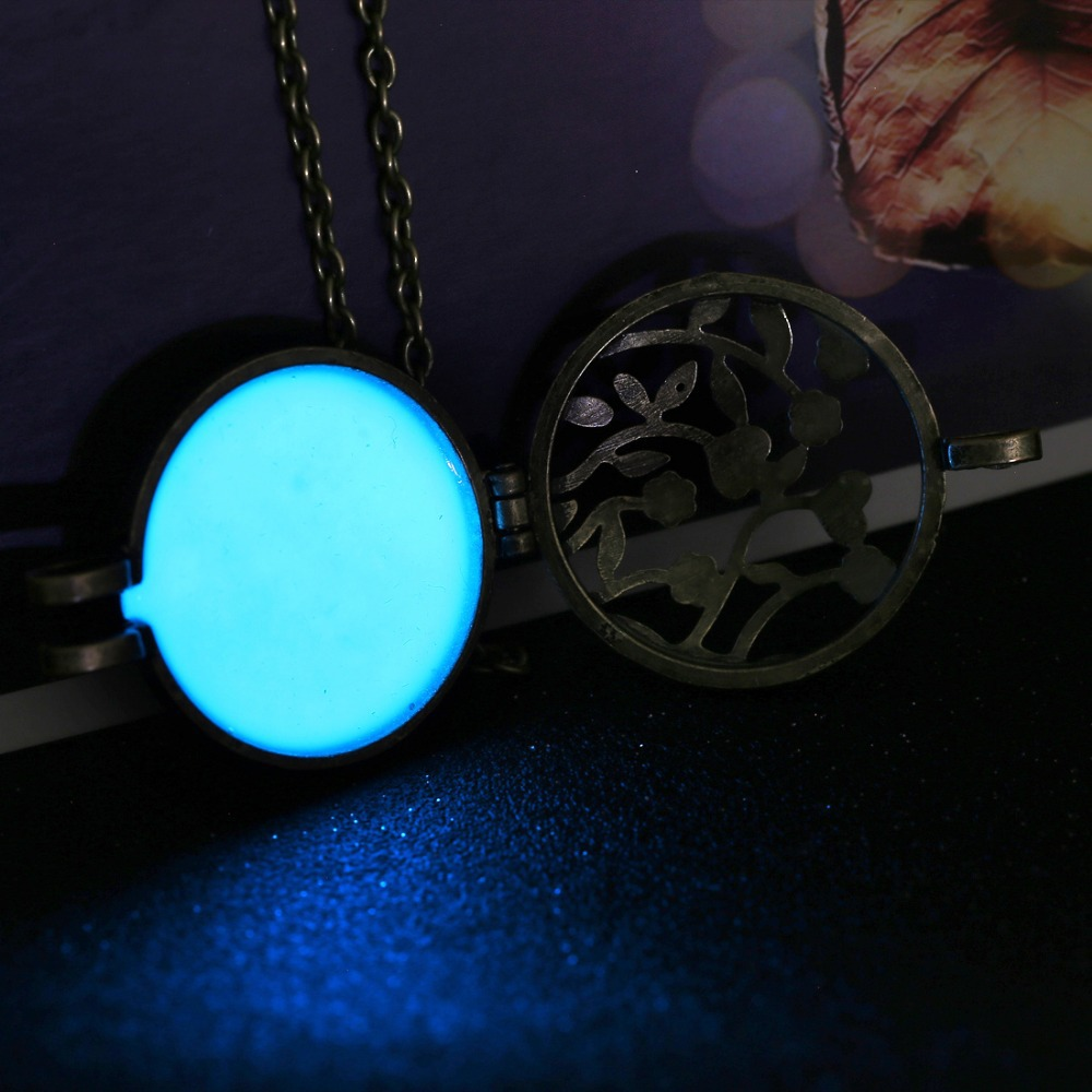 glowing dark necklace orb the products in pocketpackage dandelion glow a