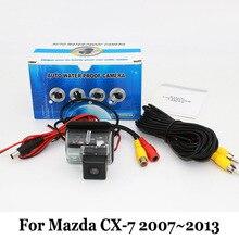 Для Mazda CX7 CX-7 CX 7 2007 ~ 2013/RCA Проводной Или Беспроводной HD Широкоугольный Объектив Автомобильная Камера Заднего вида CCD Ночного Видения Резервного Копирования камера