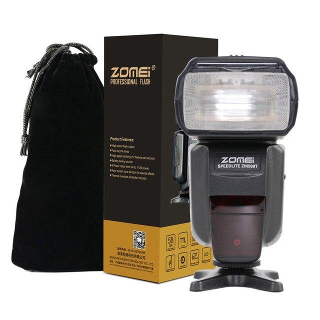 HOT Zomei ZM 580T Auto Focus Speedlite TTL High Sync Speed Flash Speedligt With