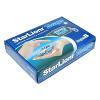 Russian Version Two Way Car Alarm System Starlionr B9 With Engine Start LCD Remote Control Key