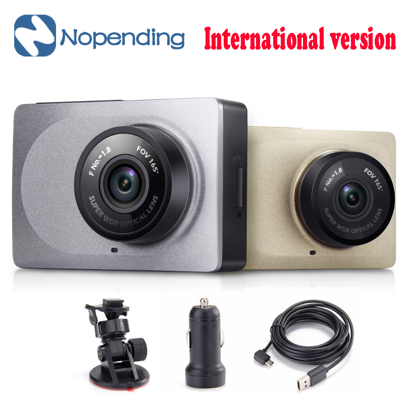 [International Edition] Original Xiaoyi YI Smart Car DVR 165 2.7inch Dash Camera 1080P 60fps ADAS Safe Reminder WIFI Dashcam