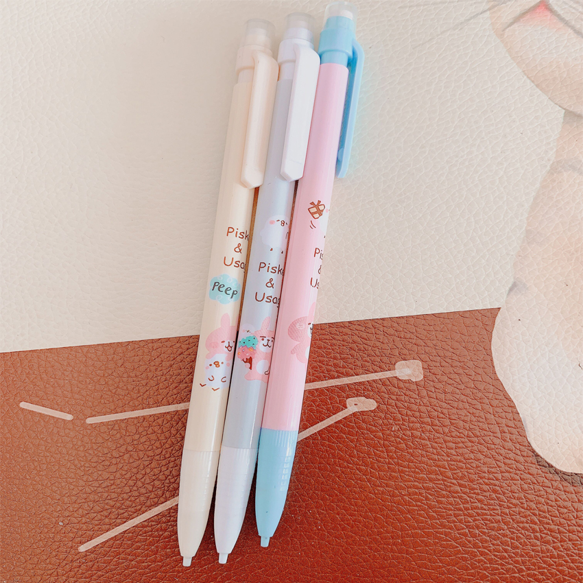 30pcs lot Colourful Bear Automatic Pencil Gifts for Party 0 5mm Signature Pencils with eraser Office School Supplies in Party Favors from Home Garden