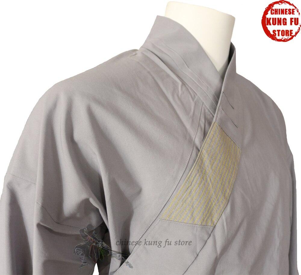 Танымал сұр мақтан Шаолин униформасы - Спорттық киім мен керек-жарақтар - фото 3