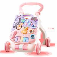 baby stroller walker toy anti rollover learning standing walking baby trolley multi function with music