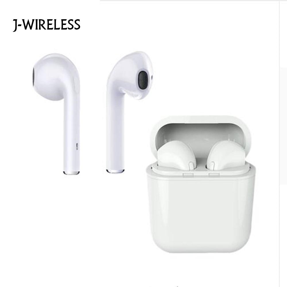 JWIRELESS Bluetooth Headphones Mini with Mic In Ear Gaming Wireless Earphones Stereo Handsfree Ture Wireless Earbuds Smartphone dacom tws bluetooth 4 2 earbuds in ear headphones with mic