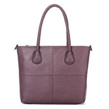YILIAN Female bag fashion Leisure time High-capacity Mother and son Solid color handbag 8302