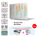 Радуга Dream Catcher Перо Печати Pattern Ноутбука Чехол Для Apple Mac Книги Pro Retina 13 15 12 Крышка Для Macbook Air 11 13 Случае