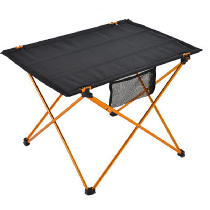 Table pliante Portable pliable bureau Camping pique-nique en plein air en alliage d'aluminium table à manger extérieure ultra-légère - 4
