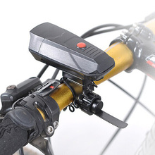 Bycicle ABS Plastic Cycling Electronic Horns Bike Handlebar Ring Bell Horn Loud Air Alarm Bell Sound 120db Bicycle Horn Safe