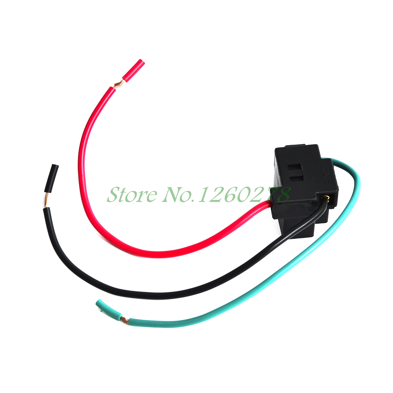 small resolution of 2pcs h4 female adapter wiring harness sockets wire harness connector for headlights in car headlight bulbs led from automobiles motorcycles on