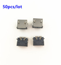 50pcs/lot HDMI compatible Port Jack Socket Interface Connector Replacement For Playstation 3 PS3 HD PS 3 2000 2500 2K 2.5K