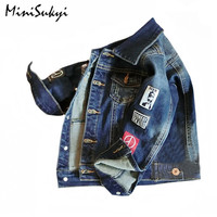 Kids Denim Jacket For Baby Boys Girls Jacket Outwear Cool Children Denim Jacket So Fashion Toddler