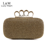 Fashion Luxury Shinny Woman Evening Clutch Bags High Quality Diamond Ring Clutches Wedding Party Banquet Shoulder