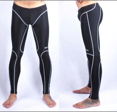 Lungo resistente al cloro/wateproof mens costumi da bagno nuoto costumi da bagno maschili degli uomini concorrenza pant