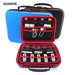 GUANHE 3.5 polegada TAMANHO GRANDE Drive USB Eletrônica Acessórios Caso Organizador/saco Saco de Disco Rígido HDD/Mini PC/tablet/mouse