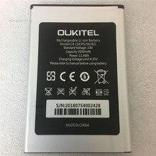 100% оригинал 5,5 дюйма Oukitel C8 Батарея реальные 3000 мАч резервного копирования Батарея Замена для Oukitel C8 мобильного телефона