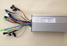 36V/48V 1000W-1500W Brushless DC Torque Simulation Square ebike Electric Bicycle Hub Motor Controller with right output