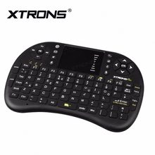 XTRONS AMK003 2.4 GHz Wireless Mini Keyboard Mouse Touchpad Remote control untuk Mobil PC Pad Laptop XBOX, 360 PS3 TV Box(China)