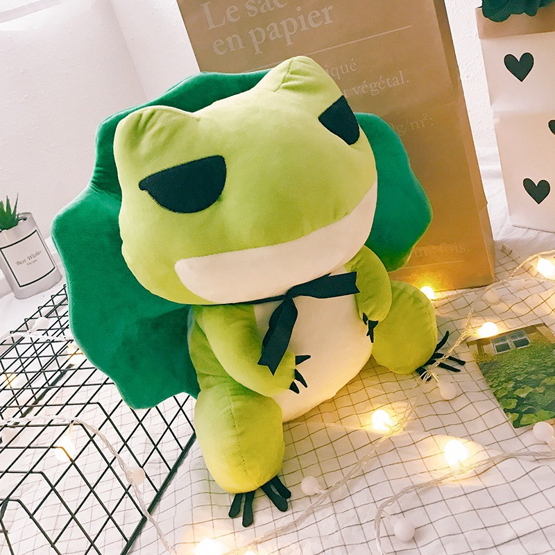 creative pepe sad frog the frpg wire plush stuffed animal gift collectible toy