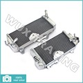 09 10 11 12 13 14 L/R New Aluminium Cores MX Offroad Motorcycle Radiators Cooling X2 fit for Kawasaki KXF450 KX450F KLX 450 F