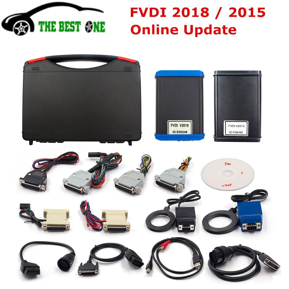 Fly FVDI 2018 ABRITES Commander Online Update V2018 Cover