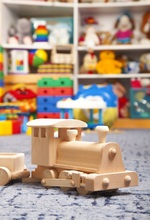Laeacco Baby Educational Toys Wood Train Lego Children Photography Background Customized Photographic Backdrops For Photo Studio
