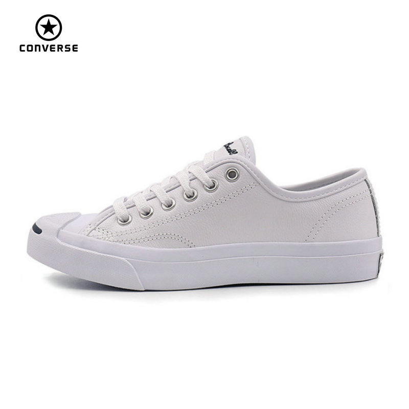 Converse Original new Smile style JACK PURCELL shoes man and women Unisex PU Leather Skateboarding Shoes
