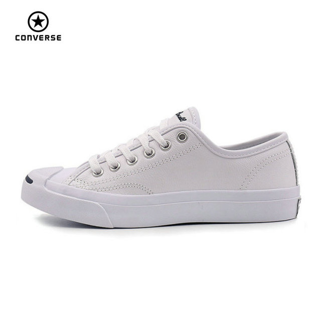 df8dc9cc4edb Converse Original new Smile style JACK PURCELL shoes man and women Unisex  PU Leather Skateboarding Shoes 101509