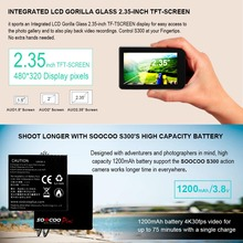 300 Action Camera 2.35″ touch lcd Hi3559V100 + IMX377 4K 30fps EIS Wifi 12MP CMOS remote external mic sport cam