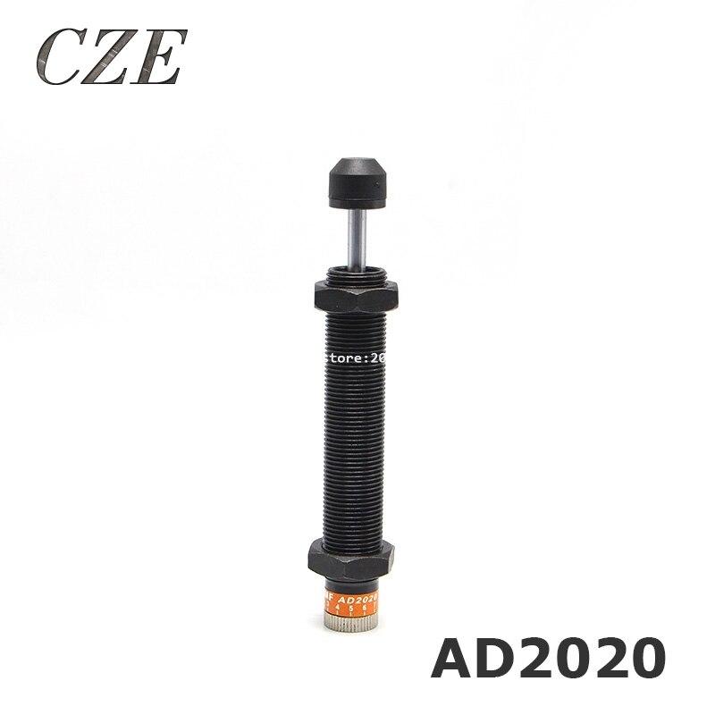 Pneumatic Hydraulic Shock Absorber Adjustable Hydraulic Buffer AD2020 (FC) TYPE shock absorber ad2580 absorber buffer bumper free shipping