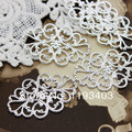 20PCS Silver plated RAW brass Filigree Jewelry Connectors Setting Cab Base Connector Finding 31x22mm (FILIG-S-8)