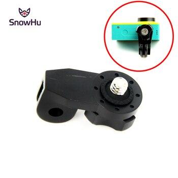 цена на SnowHu Camera Bridge Adapter for xiaomi yi Mounts 1/4 inch Screw Hole for Sony Mini Cam Action Camera HDR AS20 AS30V GP135