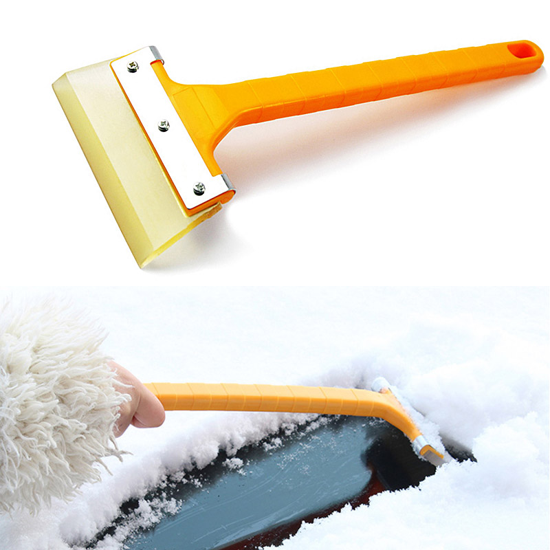 Garden Hand Tools Car Vehicle Auto Snow Cleaning Remover Windshield Shovel Handheld Ice Scraper Snow Brush Car Ice Scraper Without Return