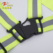Reflective Vest Brand Zojo Workplace Safety Supplies Outdoor Cycling Clothing Unisex Reflective Running Vest V170