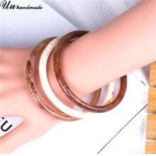 Купить с кэшбэком Retro Cuff Bracelets Bangles for Women Indian Jewelry Bracelet Pulseiras Bijoux Bangle Jewellery Bisuteria Brazalete Mujer Joyas