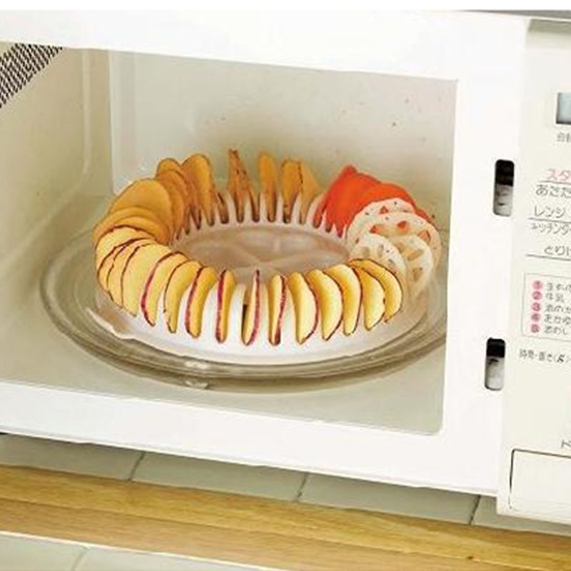 High Quality Diy Low Calories Microwave Oven Fat Free Potato Chips Maker Baking Pastry Tools In From Home Garden On
