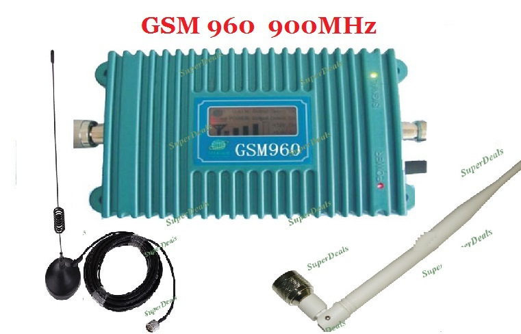 LCD Display!!!GSM 960 900Mhz Mobile Phone Signal Booster /  Signal Repeater , Mobile Phone Amplifier With Cable + AntennaLCD Display!!!GSM 960 900Mhz Mobile Phone Signal Booster /  Signal Repeater , Mobile Phone Amplifier With Cable + Antenna