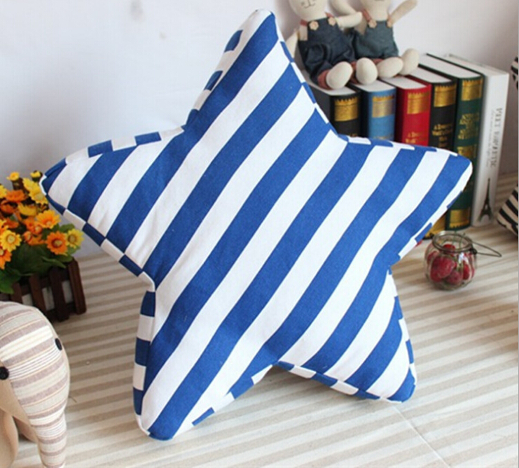 Free Shipping!Striped Soft Cushion Cotton Pillow Garden Chair Cushion with filler Mixed Color