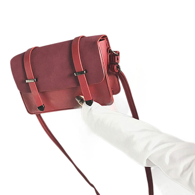 1610ad7e4f AFBC Vintage Fashion Handbags PU Leather Handbags Women s Designer Handbag  Matte Arrow Stereotypes Shoulder bag Square