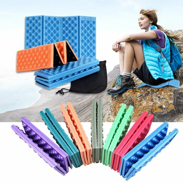 Foam Pad Waterproof Foldable Foam Sitting Mat Sand Free Mat Pad for Chair Outdoor with/without Storage Bag matelas mousse
