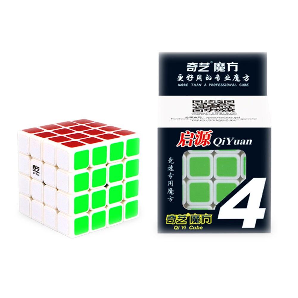 QiYi QiYuan 4X4X4 Cubo Mágico Cubo Profesional de Velocidad Cubo - Juegos y rompecabezas - foto 3