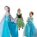 kids party dresses for girls disfraz elsa elza anna summer princesa dress fever infantil vestido children costumes jurk clothes