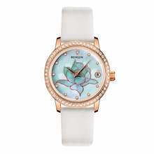 BINLUN Rose Gold Ladies Automatic Mechanical Watch Waterproof Diamonds Luxury Wrist Watch for Women