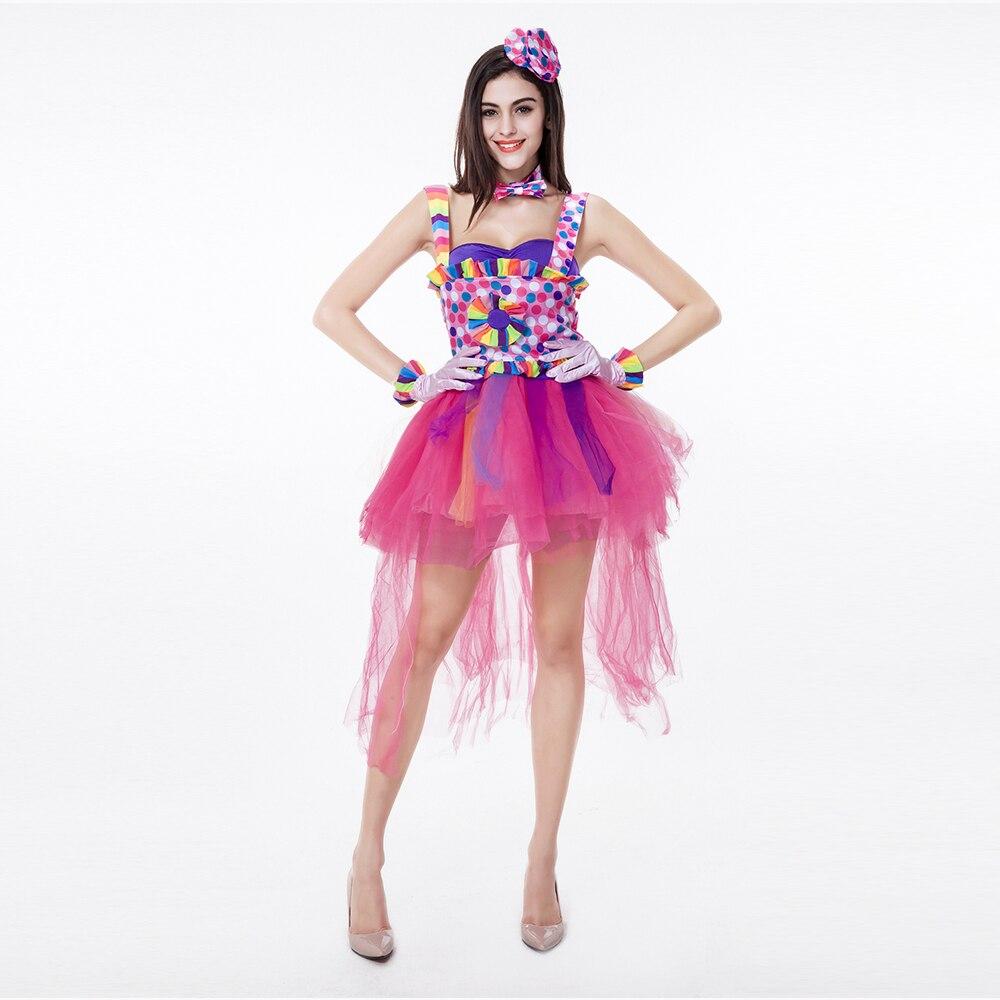 Zaful colorido cantante vestido Cosplay disfraces halloween lindo ...