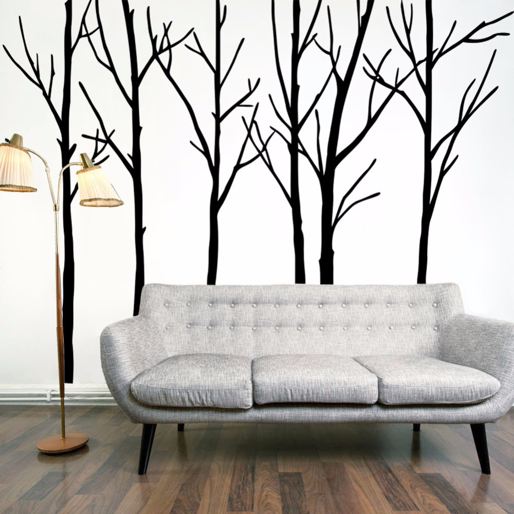 Online get cheap large tree wall decal for Big wall decor