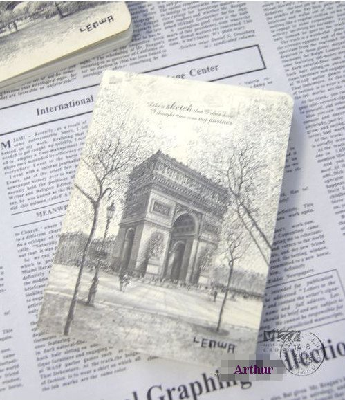 Free Shipping 4style Nostalgia/reminiscence Diary book/ Pocket Notepad Memo/Private secret Notebook /Fashion Gift/Wholesale