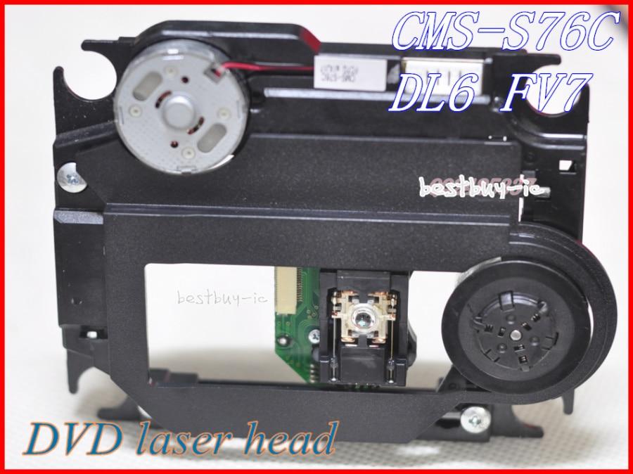 CMS-S76C DL6FV7 SOH-DL6FV7 DVD OPTICAL PICK UP com mecanismo de plástico