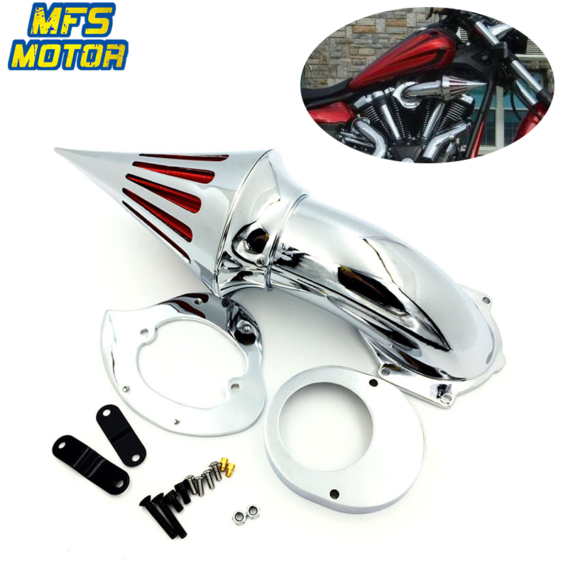 Air Filters For 99 12 Honda Shadow 600 VLX 600 Spike Cone Air Cleaner Intake Kit Motorcycle Accessories Parts 1999 2012