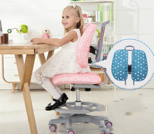High quality double back lifting chair for children's study study desk chair back computer student chair