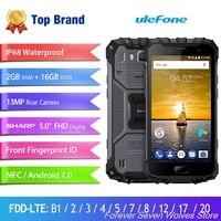 ULEFONE ARMOR 2 6 ГБ ОЗУ 64 Гб ПЗУ Helio P25 MTK 2,6 ГГц Восьмиядерный 5,0 FHD экран IP68 Водонепроницаемый Android 7,0 4G LTE смартфон